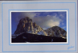 Dolomiti - Il Sassolungo - Formato Grande Viaggiata - Italia