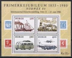 Noorwegen Y/T Blok 4 (**) - Blocs-feuillets