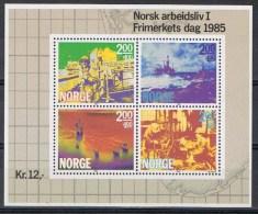 Noorwegen Y/T Blok 5 (**) - Blocs-feuillets