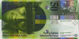 Switzerland 50 Francs (P71b) 2004 -UNC- - Suiza