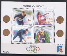 Noorwegen Y/T Blok 14 (**) - Blocs-feuillets