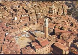 Siena - il campo - veduta aerea - 52774 - formato grande viaggiata