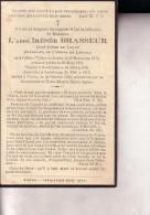 VIRTON  NEUFCHATEAU  CARLSBOURG Abbé Irénée BRASSEUR Curé-doyen De Virton  1870-1933 Souvenir Mortuaire - Images Religieuses