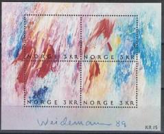 Noorwegen Y/T Blok 12 (**) - Blocs-feuillets