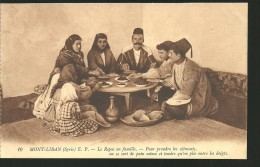 MONT LIBAN TRES BELLE CARTE