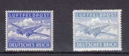 Deutsches Reich Feldpost Luftpostbriefe  - *  gez�hnt/s�gezahnartig