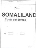 Somaliland Costa Dei Somali Collection 1894/1965 In Album Scott.PO+PA+Service See Summary And 36 Scans - Collezioni (in Album)