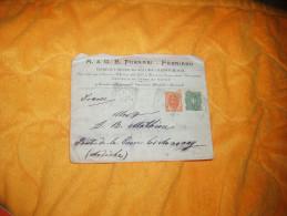 ENVELOPPE CIRCULEE UNIQUEMENT DE 1900. / ITALIE / A.& G.B. FORNARI - FABRIANO / FABRIANO A BOULIEU / CACHETS + TIMBRES - Italia