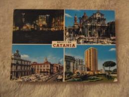 Catania - Saluti da Catania - 4 vedute 1964