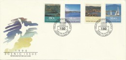 New Zealand 1990 Scenic Issue FDC - FDC
