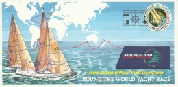 New Zealand 1994 Round The World Yacht Race FDC - FDC