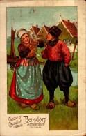 CACAO ET CHOCOLAT BENSDORP..AMSTERDAM..CPA - Werbepostkarten