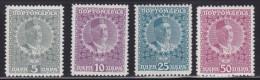2075. Kingdom Of Montenegro, 1913, Porto Stamps, MH (*) - Montenegro