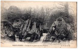 CP, 87, SAINT-JUNIEN, Cascade de la Glane aux Gros-Rochers, Vierge