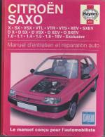 Livre Citroën Saxo. (Voir Commentaires) - Auto