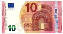 10 Euro Italy EUROPE (Serie SD - Plate Number S002 C3) EUROPA 2014 MARIO DRAGHI UNC NEUF FDS Banconota Billet Note - 10 Euro