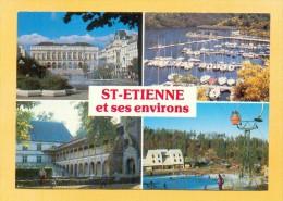 CPM  FRANCE  42  -  SAINT-ETIENNE  -  Divers Aspects  ( Imprilux 1984 ) - Saint Etienne