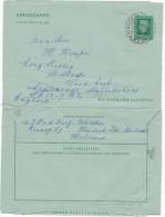 OLANDA - PAESI BASSI - NEDERLAND - PAYS BAS - 1977 - Aerogramme 75c - Viaggiata Da Hendrik-Ido-Ambacht Per Ladderedge... - Postal Stationery