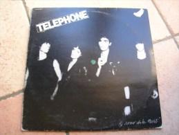 """33 Tours 30 Cm - TELEPHONE  - PATHE 72279  """" AU COEUR DE LA NUIT """" + 12 - Vinyles"""