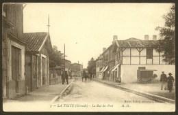 LA TESTE La Rue Du Port (MD) Gironde (33) - France