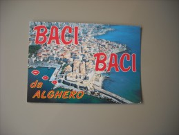ITALIE SARDEGNA ALGHERO VEDUTA AEREA - Altre Città