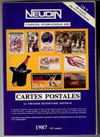 Neudin Catalogue 1987 Dédicacé Autographe  Peu Lu état Superbe - Livres