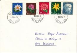 Lettre FDC 1.XII.1964 De Genève Pour Lausanne - Lettres & Documents