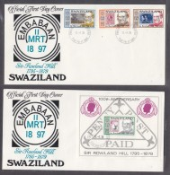 SWAZILAND: First Day Cover, 1979 Sir Rowland Hill - Swaziland (1968-...)