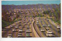 REF 204  CPSM HOLLYWOOD California Freeway Autoroute - Etats-Unis