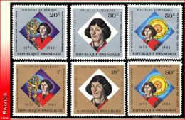 Rwanda 0566/71*  Copernic  H