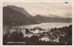 Real Photo - Upper Austria - Gmunden Vom Kalvarienberg - Health Resort - Unused - 2 Scans - Gmunden