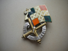 insigne artillerie   , insigne , medaille , lot , insigne ancien , N� 67