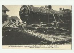 Kontich  *  Contich - La locomotive du train tamponneur - De locomotief van de botsende trein