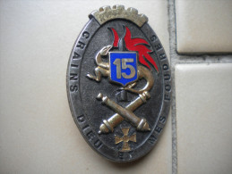 insigne artillerie   , insigne , medaille , lot , insigne ancien , N� 70