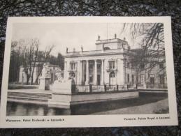 cpsm pologne POLOGNE  varsovie palais royal a lazienki