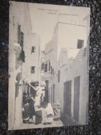 Cpa CPA MAROC LARACHE Bab El Guezari Quartier Arabe Calle De Guezarin Casa Goya - Maroc