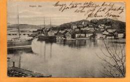 Kragero Oen 1910 Postcard - Norvegia