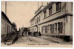 "Cpa "" GUELMA - Ecole D'Alembert "" TRES RARE ! 1912 - Guelma"