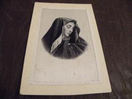 A198.CPA..religion....carte Tissée Superbe.... Rare Beau Plan Animé..non Ecrite - Virgen Mary & Madonnas