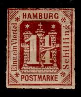 HAMBOURG - N°22 - NEUF SANS GOMME - COTE 35€. - Hambourg