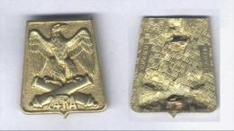 Insigne Du 24e Régiment D´Artillerie - Esercito