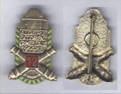 Insigne du 12e R�giment d�Artillerie