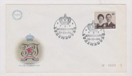 Luxembourg  //   1 Er Jour  //  Avènement De S.A.R. Le Grand Duc //  11/11/64 - FDC