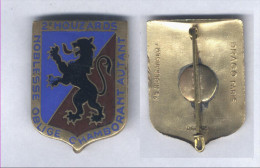 Insigne du 2e Regiment de Hussard