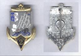 Insigne du 2e R�giment d'Artillerie Coloniale