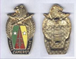 Insigne Arm�e Camerounaise ( Cameroun )