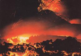 Ph-CPM Italie Etna (Catania) Una impressionante eruzione del cratere centrale
