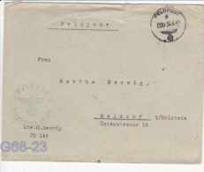 Feldpost WW2: Nachschub-Kolonne Abteilung 616 FP 29144 P/m 25.5.1941 - Cover Only (G68-23) - Militaria