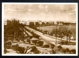 Tripoli. Passeggiata Conte Volpi - Vera Fotografia ------- Postcard Not Traveled - Libye