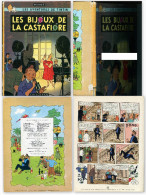 HERGE. TINTIN, LES BIJOUX DE LA CASTAFIORE. E.O. - Hergé